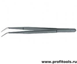 Пинцет для прецизионных работ, с направляющим штифтом KNIPEX 92 34 37