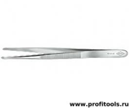 Пинцет для прецизионных работ, тупая форма KNIPEX 92 44 42