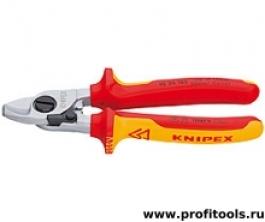 Кабелерез (ножницы для резки кабелей) KNIPEX 95 26 165