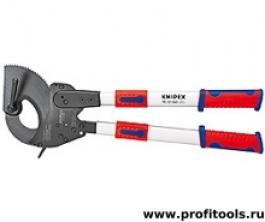 Резак для кабелей с выдвижными рукоятками KNIPEX 95 32 100