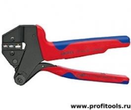 Инструмент для опрессовки системный, для сменных опрессовочных плашек KNIPEX 97 43 06