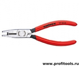 Инструмент для опрессовки для штекера типа Scotchlok с режущими кромками KNIPEX 97 50 01