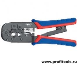 Инструмент для опрессовки штекеров типа Western KNIPEX 97 51 10