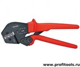 Клещи для опрессовки, также для работы обеими руками KNIPEX 97 52 09