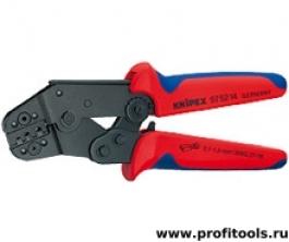 Клещи зажимные для опрессовки, укороченная конструкция KNIPEX 97 52 14