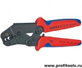 Клещи зажимные для опрессовки, укороченная конструкция KNIPEX 97 52 20