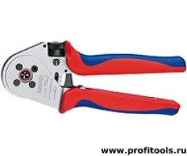 Инструмент для опрессовки точеных контактов KNIPEX 97 52 65 A