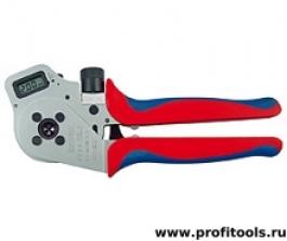 Инструмент для опрессовки точеных контактов KNIPEX 97 52 65 DG A