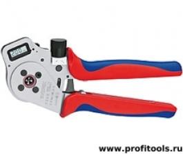Инструмент для опрессовки точеных контактов KNIPEX 97 52 65 DG