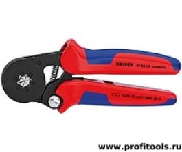 Пресс-клещи для контактных гильз самонастраивающиеся с боковой установкой KNIPEX 97 53 14