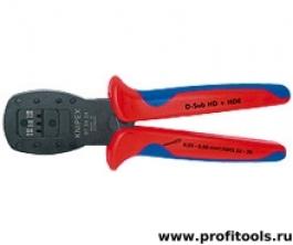 Обжимные клещи для миниатюрных штекеров, параллельный обжим KNIPEX 97 54 24