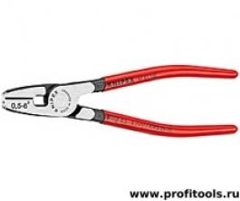 Инструмент для обжима концевых гильз с торцевой установкой KNIPEX 97 81 180