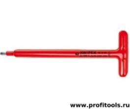 Отвертка для винтов с профилем Внутренний шестигранник с Т-образной ручкой KNIPEX 98 15 08