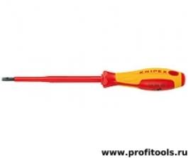 Отвертка для винтов с шлицевой головкой KNIPEX 98 20 35