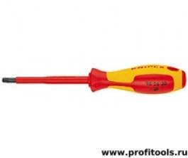 Отвертка для винтов Torx KNIPEX 98 26 10