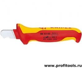 Нож для удаления оболочки KNIPEX 98 53 03