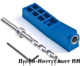 Приспособление для соединения саморезами Kreg Jig Mini + Ступенчатое сверло со стопорным кольцом + ключ MKJKIT