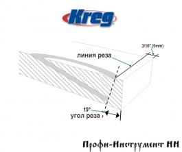 Кондуктор для изготовления заглушек Kreg KPCS