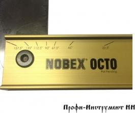 Угольник Nobex Octo 8-ми позиционный, 400мм, OC-400 Plano