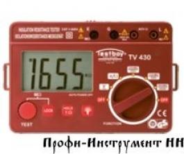 ПРИБОР ДЛЯ ПРОВЕРКИ СОПРОТИВЛЕНИЯ ИЗОЛЯЦИИ TESTBOY TV 430N