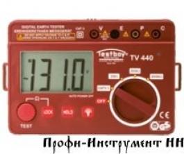 ПРИБОР ДЛЯ ПРОВЕРКИ СОПРОТИВЛЕНИЯ ЗАЗЕМЛЕНИЯ TV 440N Testboy