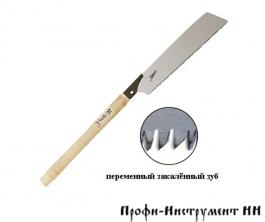 Пила безобушковая Shogun Universal Cut Saw, 265мм, прямая деревянная рукоять