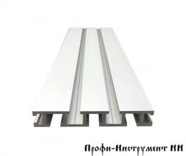 Профиль-шина 99 мм, анодированный, серебро матовое, 1,5 м