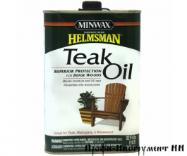 Тиковое масло Minwax Teak Oil Finish Helsman 946 мл