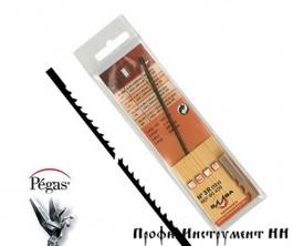 Пилки лобзиковые Pegas по дереву, N0, 0.73*0.22*130мм, 25.5tpi, 12штук