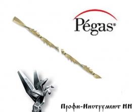 Пилки лобзиковые Pegas, спиральные, по дереву, N3, D1.05мм*130мм, 40tpi, 12штук