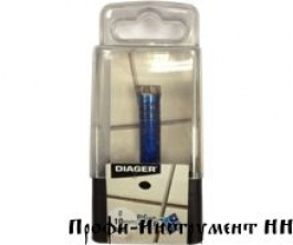 Алмазное корончатое сверло BLUE CERAM d 10 Diager